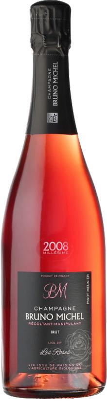 Bruno Michel Champagne Rosé des Roses 100% Pinot Meunier Jahrgang