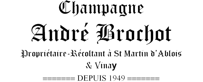 Champagne André Brochot