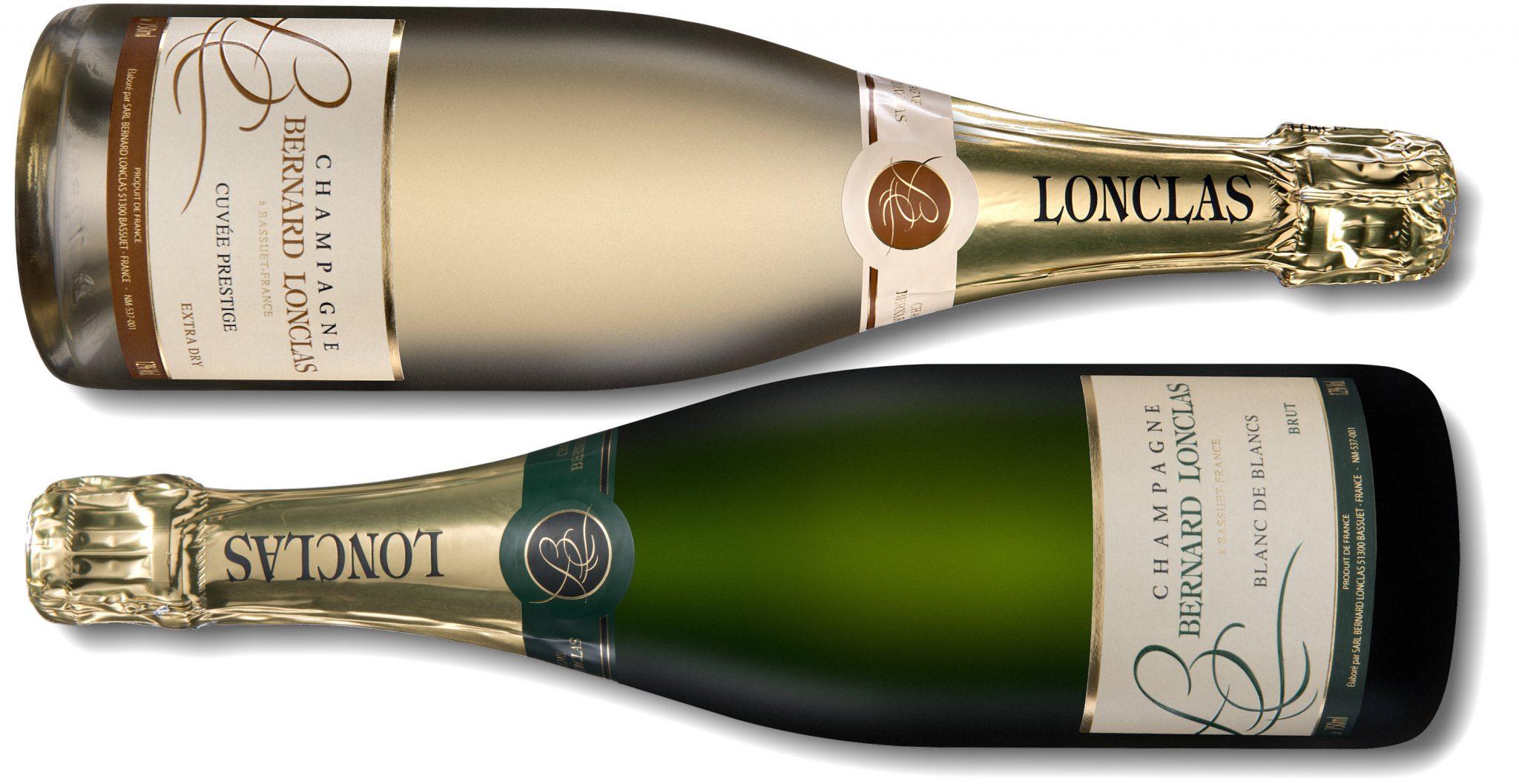 Champagne Bernard Lonclas Brut Reserve Blanc de Blancs