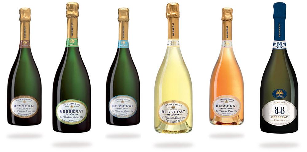 Champagne Besserat de Bellefon Cuvée des Moines