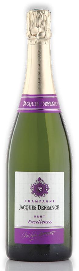 """Champagne Jacques Defrance Brut Cuvée """"Excellence"""" - 100% Pinot Noir"""