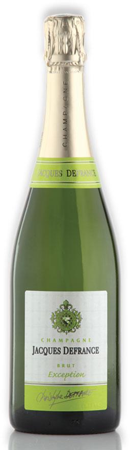 """Champagne Jacques Defrance Brut Cuvée """"Exception"""" - 100% Pinot Noir"""
