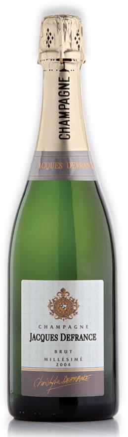 Champagne Jacques Defrance Brut Jahrgang