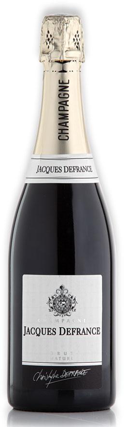 Champagne Jacques Defrance Brut Nature