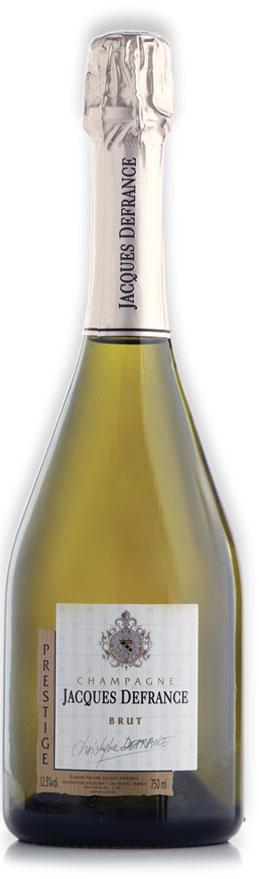 Champagne Jacques Defrance Brut Prestige