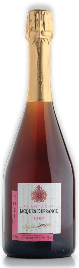 Champagne Jacques Defrance Brut Rosé
