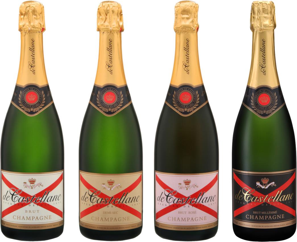 Champagne de Castellane Cuvées