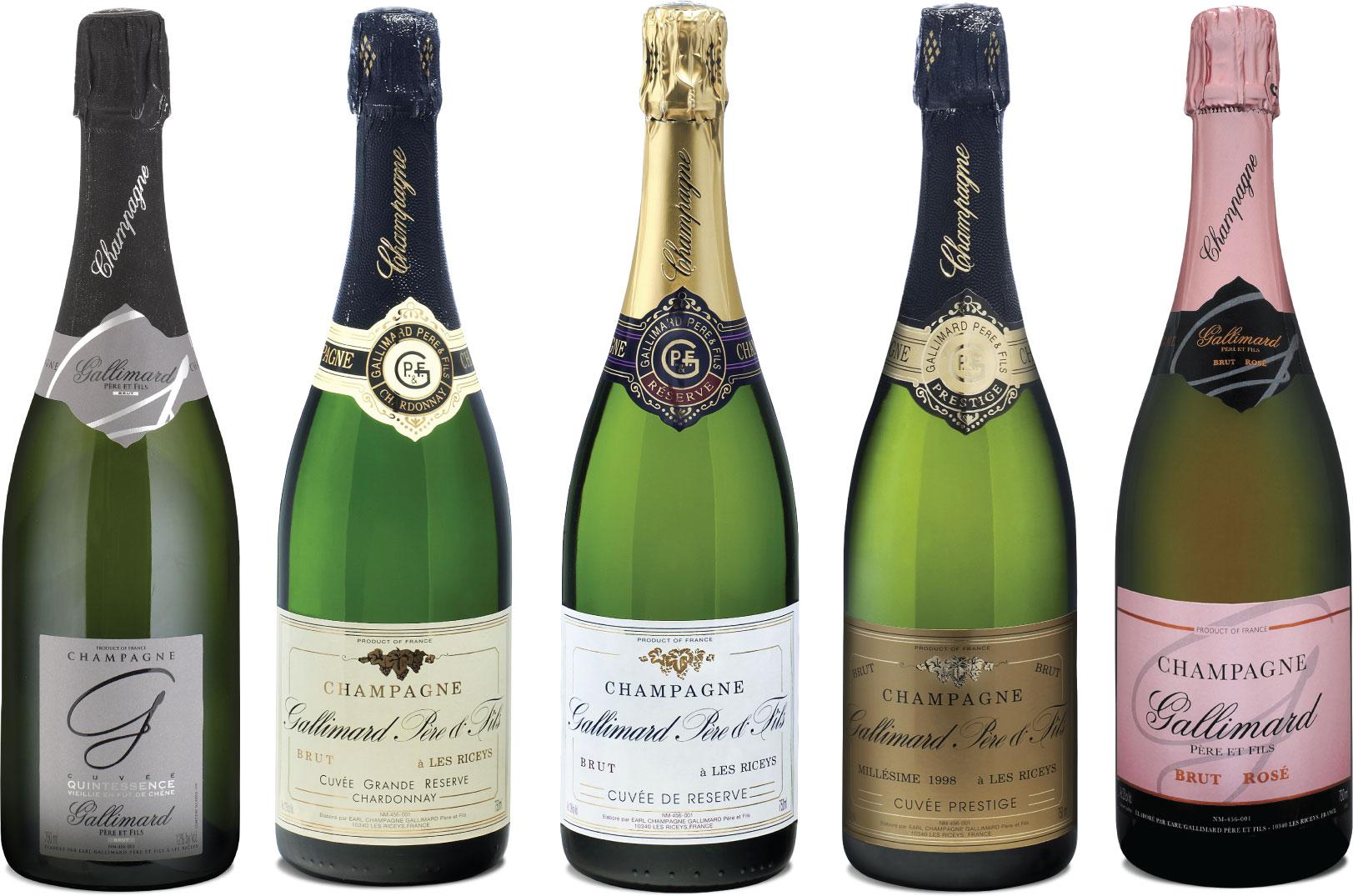 Champagner Gallimard