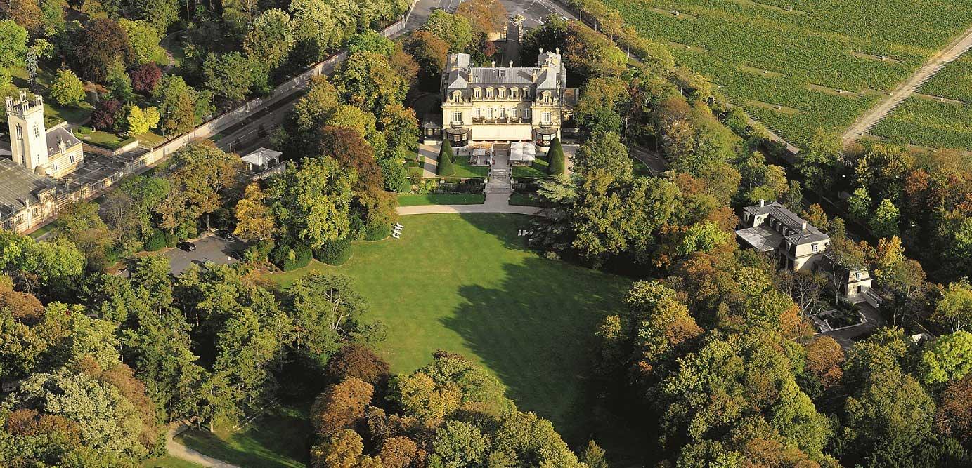 Im Hertzen der Champagne: Schlosshotel-Restaurant Les Crayères bei Reims