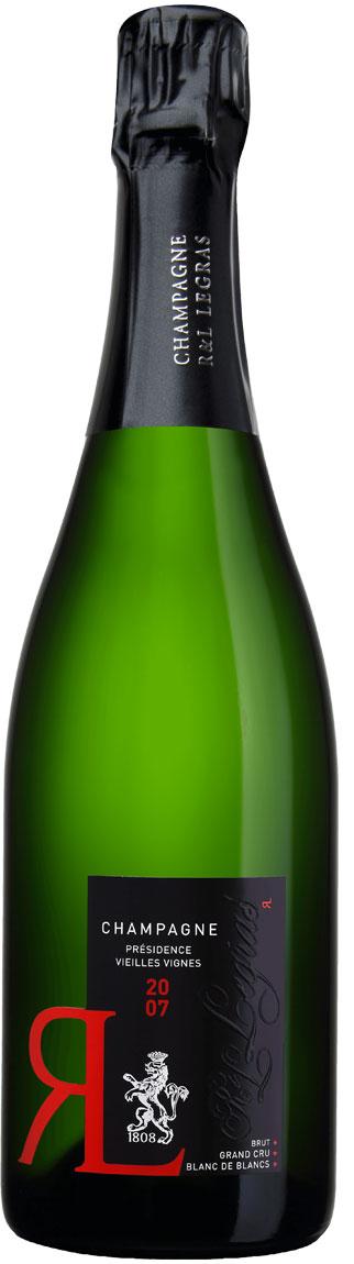 R. & L. Legras Présidence Vieilles Vignes Blanc de Blanc Grand Cru Jahrgangs-Champagne